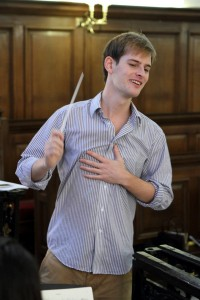 Sam Poppleton (conductor) Photo credit Ian Gillett