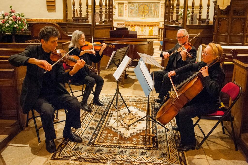 The Wiltshire Quartet - photo by Pete Dawes